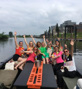 Sloep varen girls